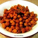 Desi Chole – Simple Garbanzo Fry