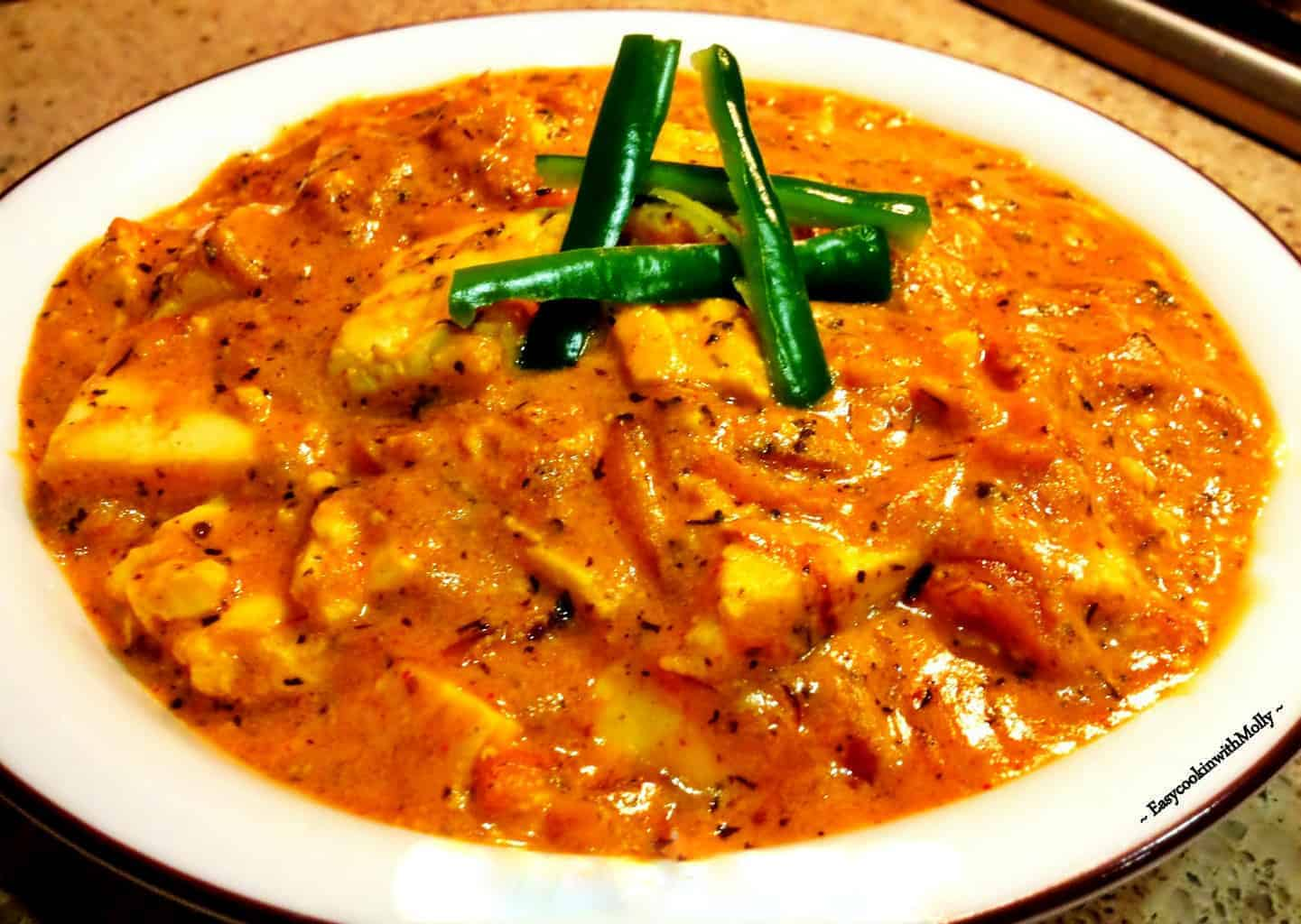 dahi methi paneer recipe is an Indian cottage cheese curry recipe