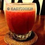 GreenTea-Strawberry Smoothie
