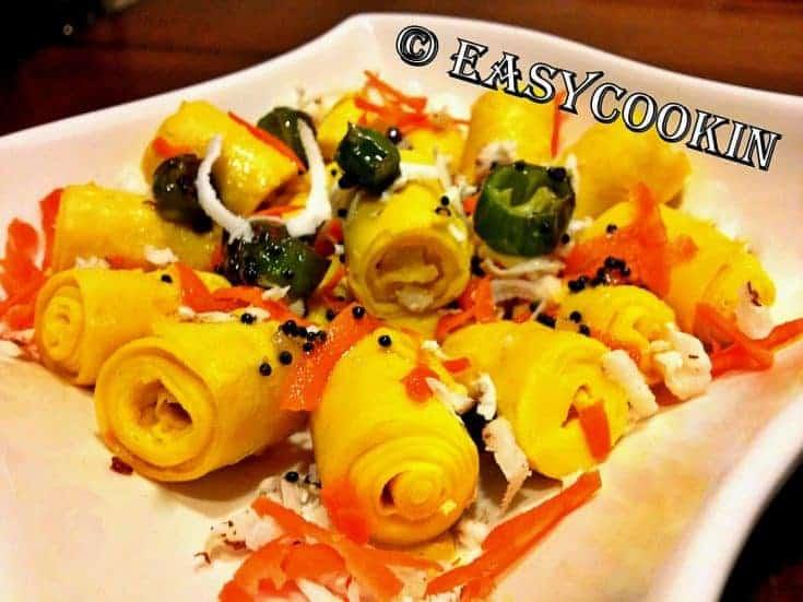 Khandvi Recipe | How to make Khandvi