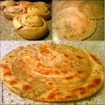 Lachha Paratha – multi-layer Indian flatbread (quick recipe)