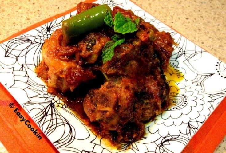 Indian Lamb Pot Roast – Bhuna Lamb Masala