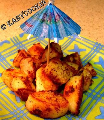 Rosemary-Cumin Infused Roasted Potato (No Bake)
