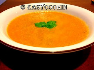 Tomato Basil Soup (Without Cream)