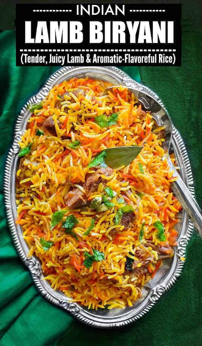 Lamb Biryani - Indian Lamb Biryani Recipe