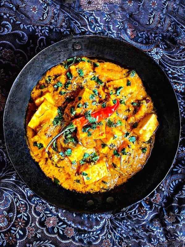 Methi Paneer Curry