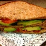 Sweet Mint Chutney-Avocado Sandwich