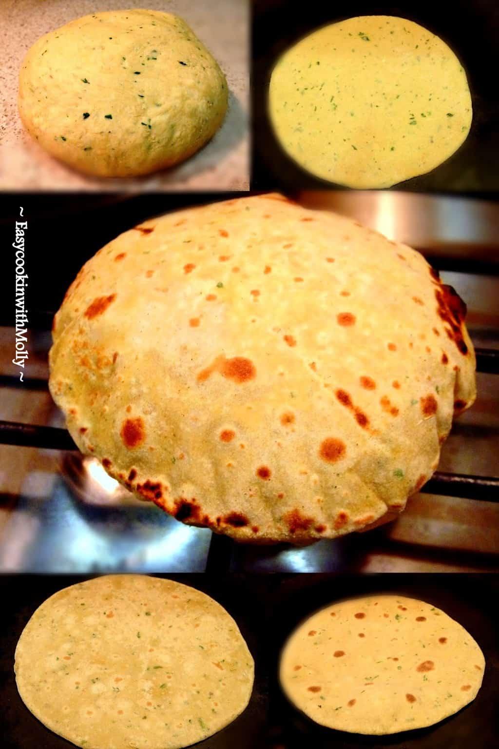 Besan-Ki-Roti Process : Besan Ki Roti