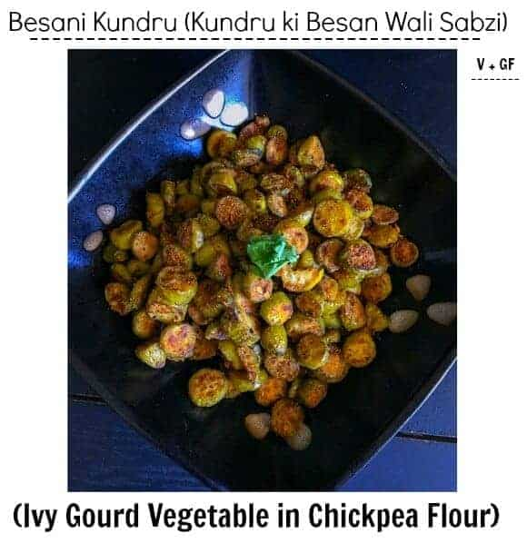 Besani Kundru (Ivy Gourd Vegetable in Chickpea Flour) – Tindora/Kovaki