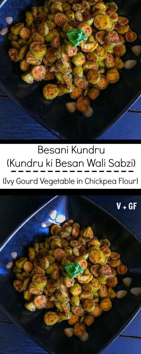 Kundru Ki Besan Wali Sabzi (Besani Kundru) : #besan #vegan #kundru #recipe