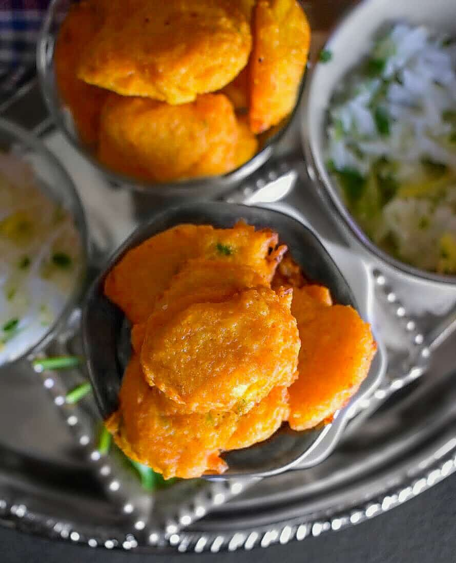 Dal Vada Recipe are lentil fritters
