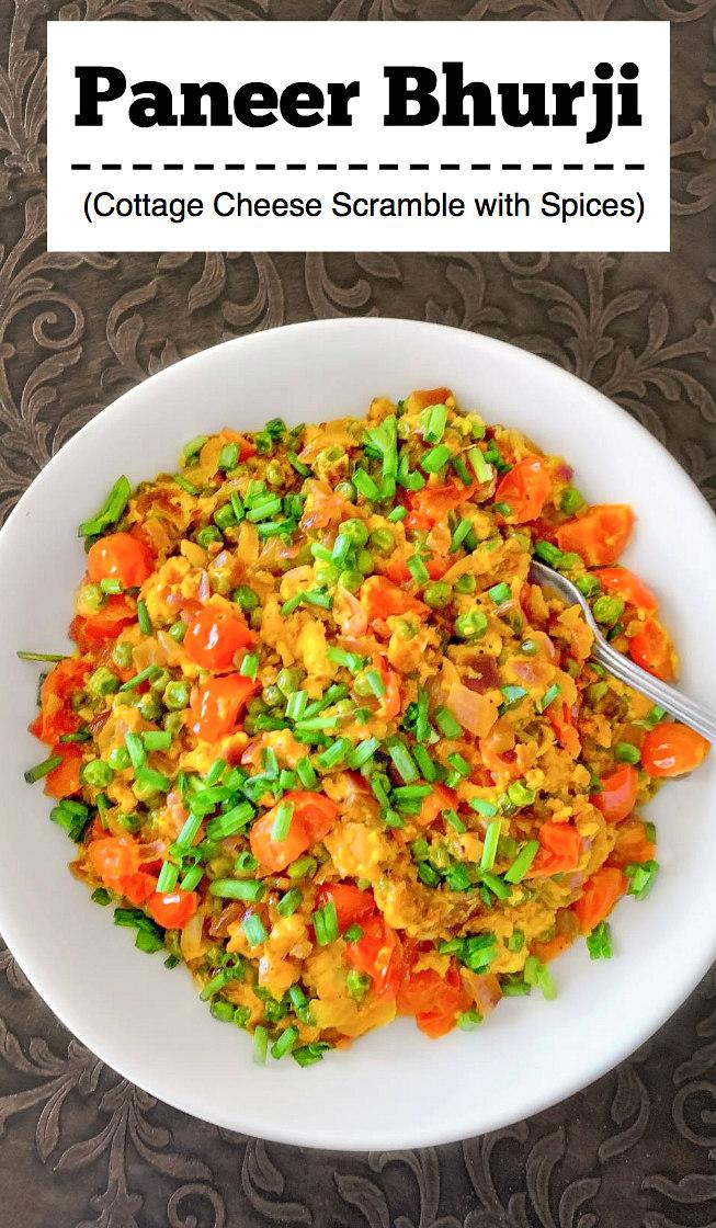 Paneer Bhurji Recipe -