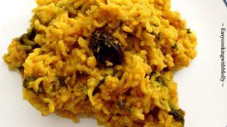 Bengali Khichuri Recipe (One Pot Lentil-Rice Dish)