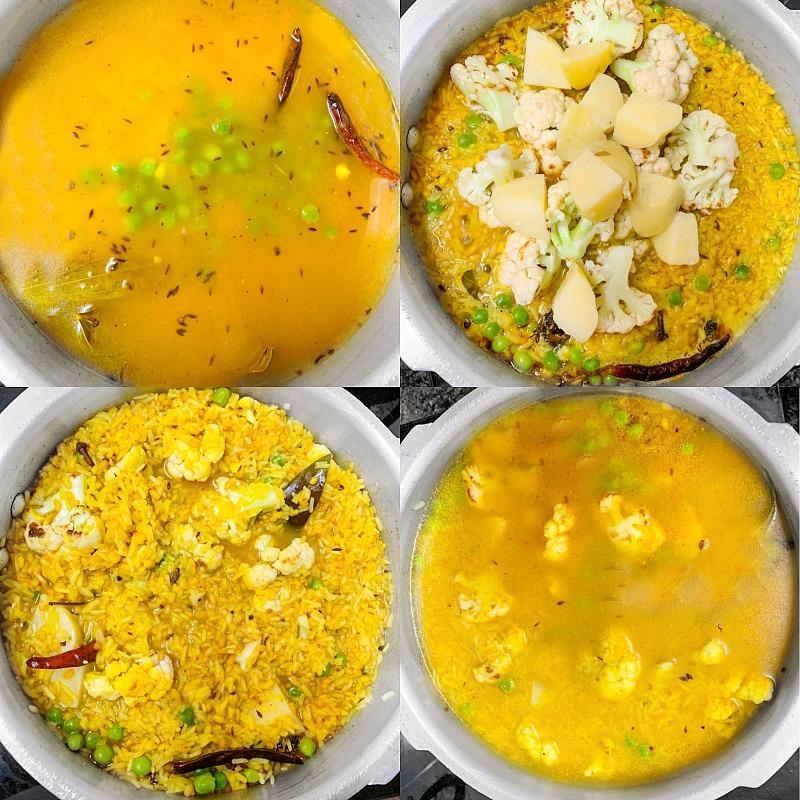 Bengali Khichuri Process -2