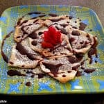 Baked Chocolate-Walnut Ravioli