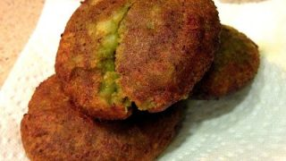 Cilantro Potato Patties (Dhaniya Aloo Tikki) Diwali Snacks