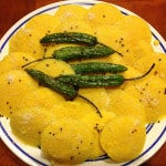 Instant Idli Dhokla (Steamed Indian Snack)