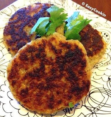 Quinoa Potato Patties Recipe (Vegan & Glutenfree)
