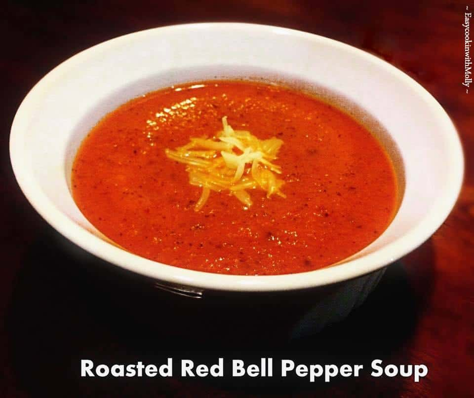 Red-Bell-Pepper-Soup