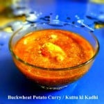 Buckwheat Potato Curry (Kuttu ki Kadhi)