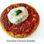 Zucchini Chicken Kebabs