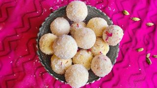 Instant Coconut Ladoo | 3 Ingredients & Ready in 10 Minutes