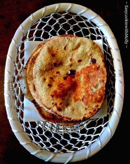Makki ki Roti - Cornmeal Flatbread