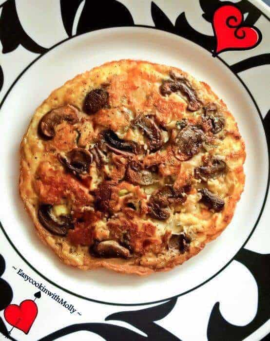 Gourmet Mushroom Omelette