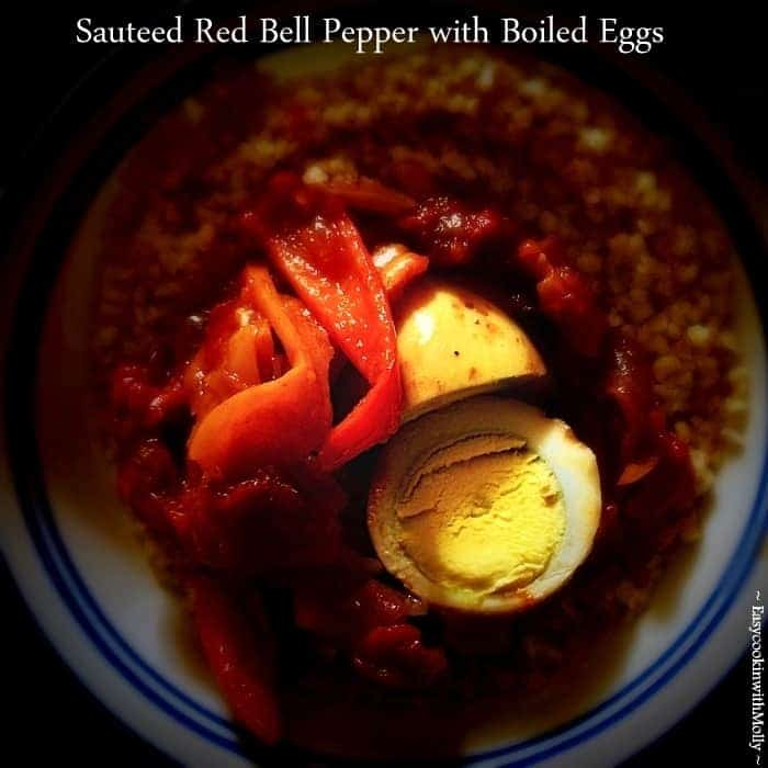 Sauteed Red Bell Pepper