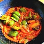 Sauteed Peppers with Onion
