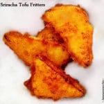 Sriracha Tofu Fritters