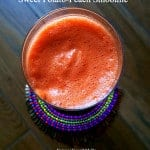 Sweet Potato-Peach Smoothie