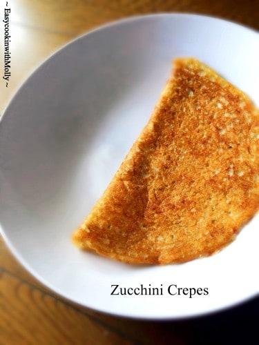 Zucchini-Crepes