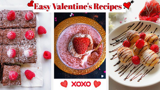quick and easy valentines recipes from easycookingwithmolly