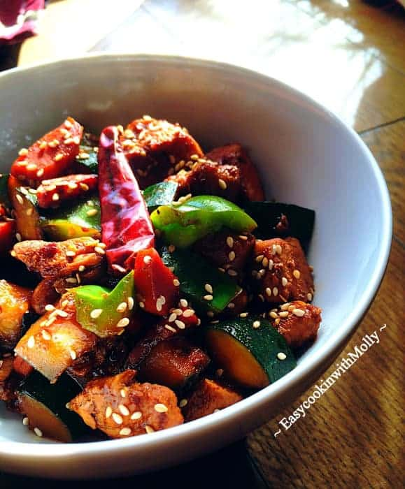 Stir-Fry Sesame Chicken (Healthy - Light)