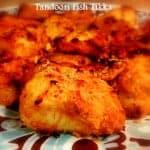 Tandoori Fish Tikka (Glutenfree)