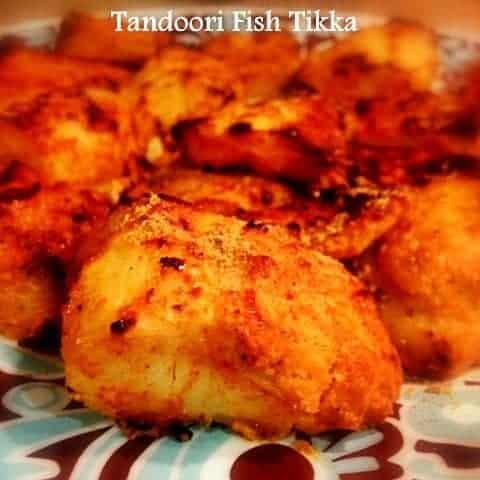 Tandoori Fish Tikka (Made in Oven) - #Glutenfree #Tandoori