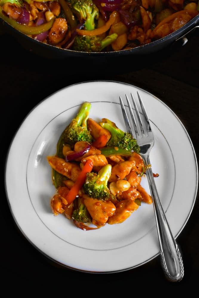chinese stir fry chicken