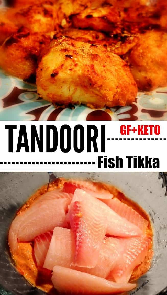 Tandoori Fish Tikka - Punjabi Fish, Indian Marinated Fish oven grilled