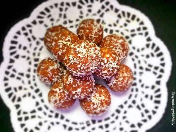 Chickpea Oats Dessert Bites