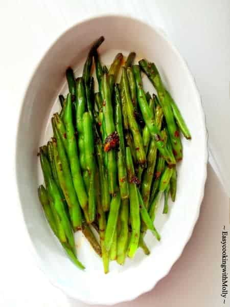 Stir Fry Spicy Chinese Green Beans