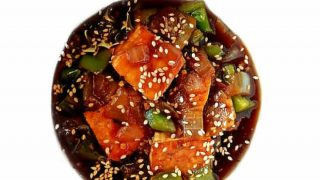 Light Tofu Manchurian - Vegan Chinese Recipe