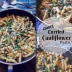 Cheesy Curried Cauliflower Pasta – #cauliflower