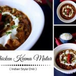 Chicken Keema Matar – Indian Style Chili