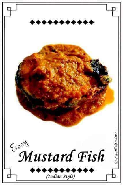 Bengali Mustard Fish Recipe