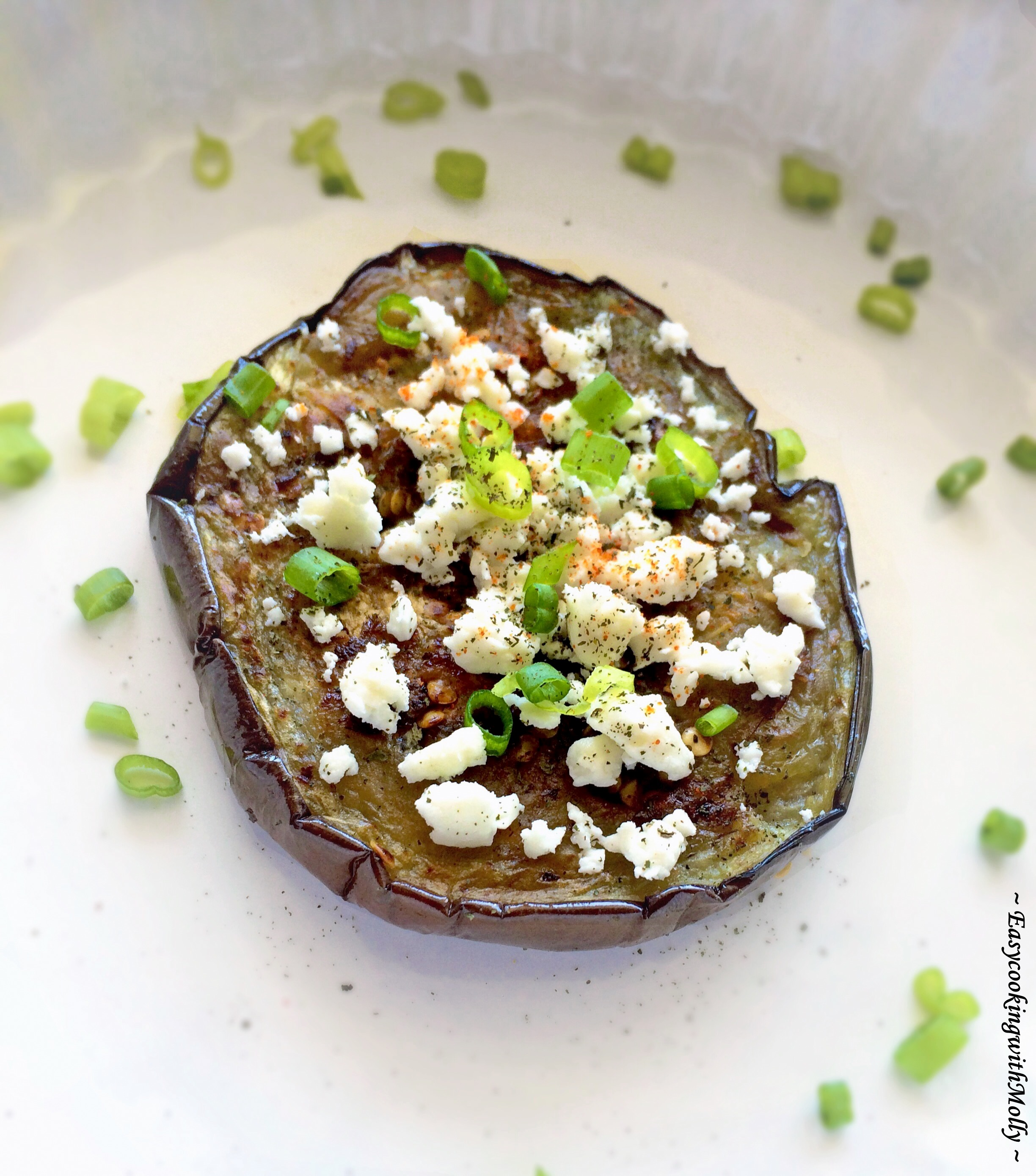 Eggplant with Feta