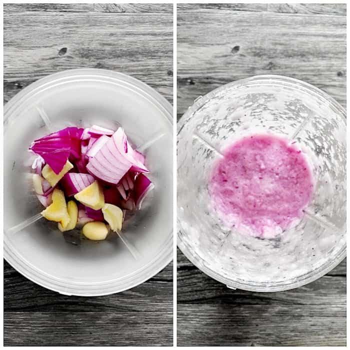 Indian Masala Mix made using onion garlic and ginger