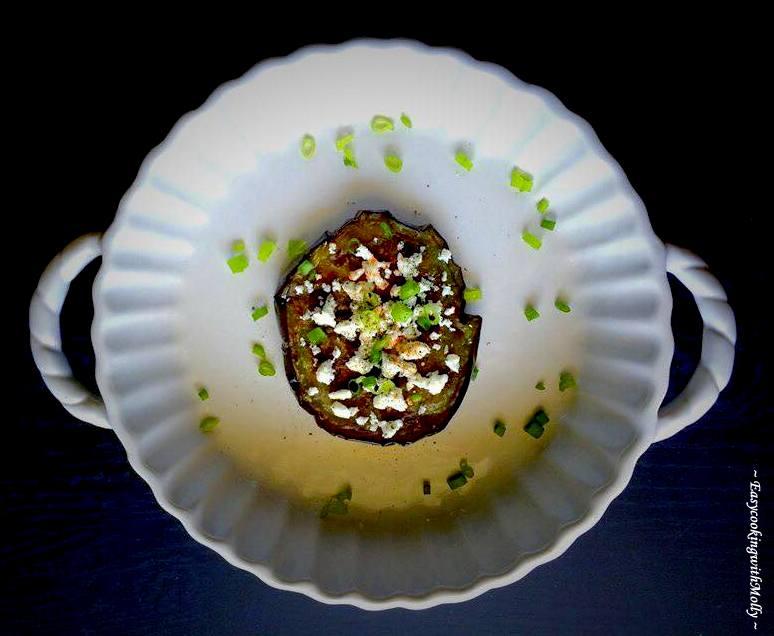 Pan Roasted Eggplant