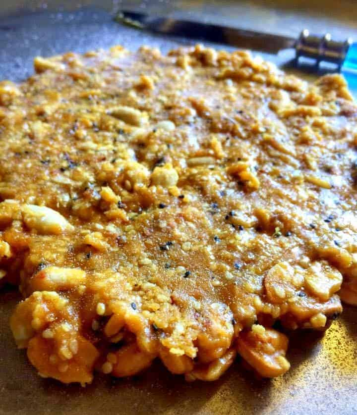 Indian Sesame Peanut Brittle