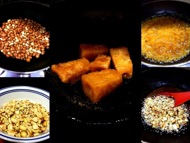 Step by Step Peanut Brittle Process
